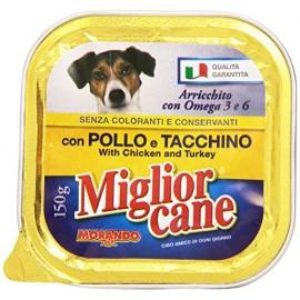 M.CANE VASCHETTA GR.150 POLLO&TACCHINO