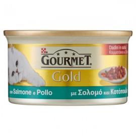 FRISKIES CAT GOLD GR.85 DADINI SALMONE&POLLO