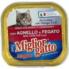 M.GATTO VASCHETTA GR.100  AGNELLO&FEGATO