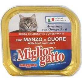 M.GATTO VASCHETTA GR.100 MANZO/CUORE