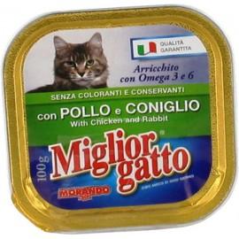 M.GATTO VASCHETTA GR.100 POLLO/CONIGLIO