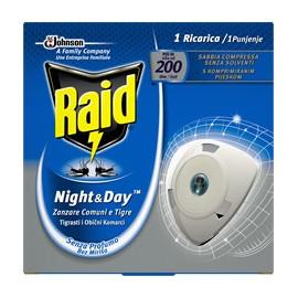 RAID NIGHT&DAY ZANZARE RICARICA