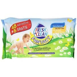 FRESH&CLEAN BABY FANTASY SALVIETTINE UMIDIFICATE PZ.48+6 GRATIS