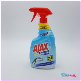AJAX SHOWER POWER 2IN1 SPRAY 750ML.POTERE GEL ATTIVO