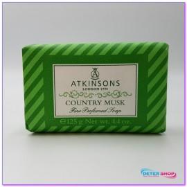 ATKINSON SAPONETTA SOLIDA PROFUMATA 125GR.COUNTRY MUSK