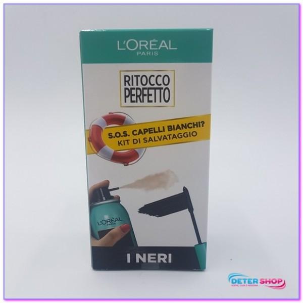 L'OREAL RITOCCO PERFETTO KIT DI SALVATAGGIO 1 SPRAY + 1 MASCARA I NERI