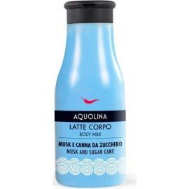 AQUOLINA LATTE CORPO 250ML.MUSK E CANNA DA ZUCCHERO