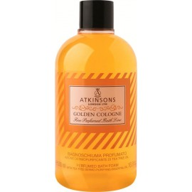ATKINSON BAGNOSCHIUMA PROFUMATO 500ML.GOLDEN COLOGNE