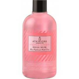 ATKINSON BAGNOSCHIUMA PROFUMATO 500ML.REGAL MUSK