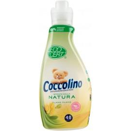 COCCOLINO AMMORBIDENTE CONCENTRATO ECO CERT 48 LAVAGGI 1,2LT.YLANG YLANG