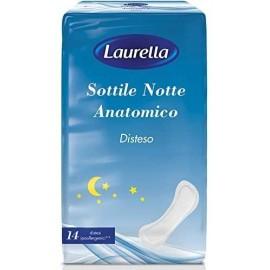 LAURELLA SOTTILE NOTTE ANATOMICO DISTESO 14PZ.IPOALLERGENICO