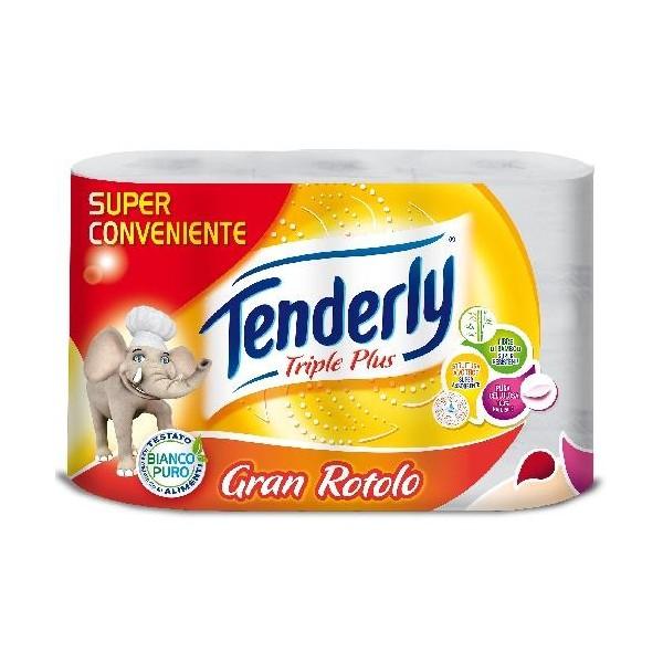 TENDERLY TRIPLE PLUS GRAN ROTOLO 3PZ.