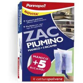 PANNOPELL ZAC PIUMINO CATTURAPOLVERE MANICO + 5 RICAMBI