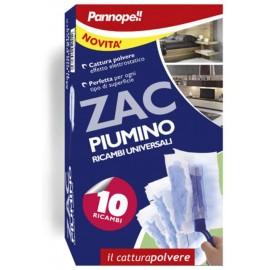 PANNOPELL ZAC PIUMINO CATTURAPOLVERE RICAMBI 10PZ.