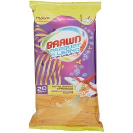 BRAWN SALVIETTE PARQUET & LEGNO PZ. 20