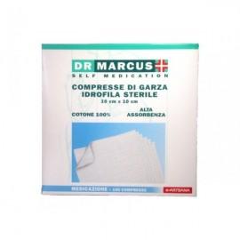 DR.MARCUS COMPRESSE DI GARZA IDROFILA STERILE CM.10X10 PZ.100