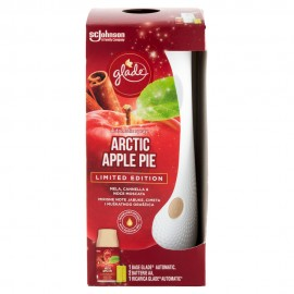 GLADE AUTOMATIC SPRAY BASE CON RICARICA ARTIC APPLE PIE LIMITED EDITION