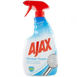 AJAX ANTICALCARE 600ML.SHOWER POWER 2IN1