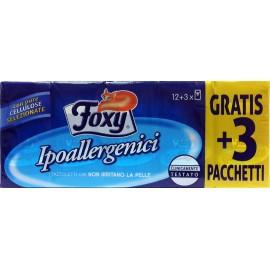 FOXY FAZZOLETTI NASO IPOALLERGENICI PZ.12+3 GRATIS