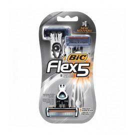 BIC RASOIO FLEX 5 LAME PZ.3