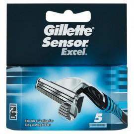 GILLETTE SENSOR EXCEL RICAMBI PZ.5