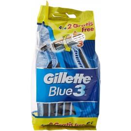 GILLETTE RADI&GETTA BLU III 3 LAME PZ.4+2 GRATIS