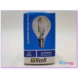 LAMPADA ALOGENA SFERA E14 230V 19W