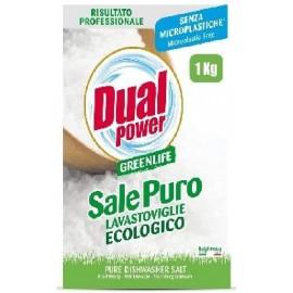 DUAL POWER GREEN LIFE SALE PURO PER LAVASTOVIGLIE ECOLOGICO KG.1