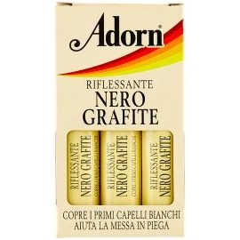 ADORN FIALE PER CAPELLI 3 PZ.RIFLESSANTE NERO GRAFITE