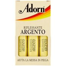 ADORN FIALE PER CAPELLI 3 PZ.RIFLESSANTE ARGENTO