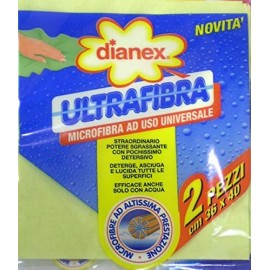 DIANEX ULTRAFIBRA 2PZ.MICROFIBRA AD ALTISSIMA PRESTAZIONE