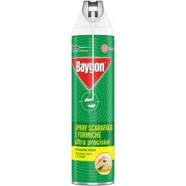 BAYGON EXTRA PRECISION SPRAY SCARAFAGGI&FORMICHE 400ML.