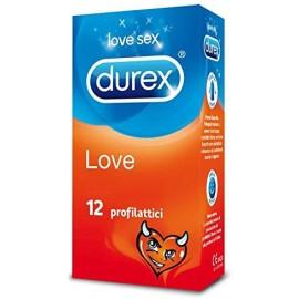 DUREX LOVE 12PZ.CON FORMA EASY-ON PER UN MAGGIORE COMFORT