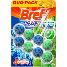BREF WC POWER ACTIVE DUO PACK PZ.2 X 50 GR.