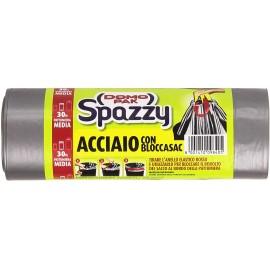 DOMOPAK SPAZZY ACCIAIO LT.30 PZ.15  CON BLOCCASAC