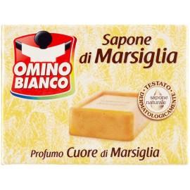 OMINO BIANCO SAPONE BUCATO DI MARSIGLIA 250GR.PROFUMI ASSORTITI