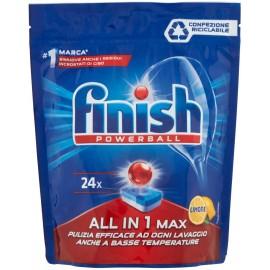 FINISH POWERBALL ALL IN 1 MAX 24 PZ.LEMON