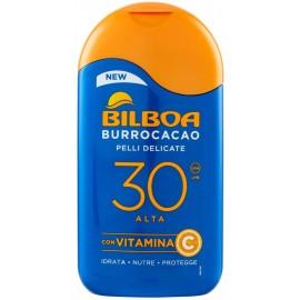 BILBOA BURROCACAO LATTE SOLARE FP30 PROTEZIONE ALTA 200ML.CON VITAMINA E