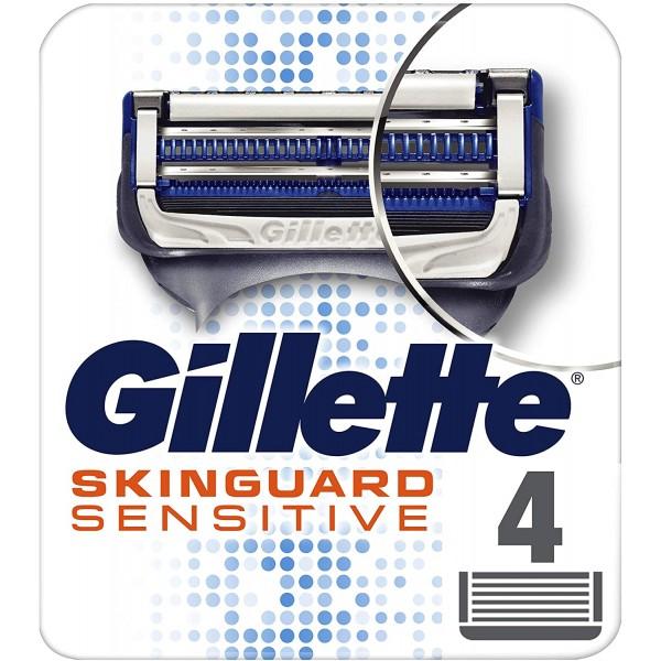 GILLETTE SKINGUARD SENSITIVE RICAMBI PER  RASOIO 4PZ.