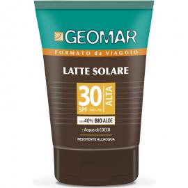 GEOMAR LATTE SOLARE SPF 30 PROTEZIONE ALTA 100ML.BIO ALOE A ACQUA DI COCCO